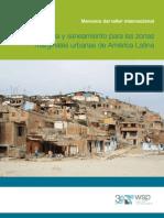 Agua y to Para Las Zonas Margin Ales Urbanas de America Latina