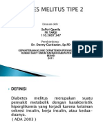 Diabetes Melitus Tipe 2