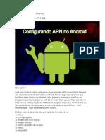 Configurando APN No Android