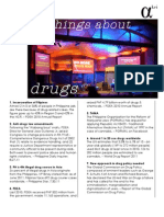 4/ 20 Things You Should Know About Drug Policy
