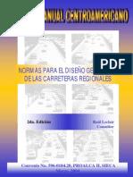 Manual Centroamericano de Normas Geometria Carreteras