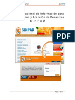 Manual de Usuario - SINPAD - 2010