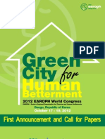 Call for Paper-2012 EAROPH World Congress