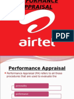 31374535 Performance Management System at Airtel