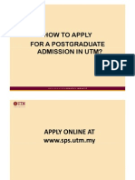 How to Apply to Utm Pg Programme v2x