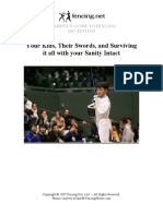 Parent's Guide to Fencing