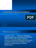 Logistics Management Lecture i