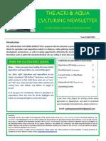 Agri and Aqua Culture Newsletter April 2012