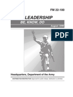 FM 22-100 Army Leadership