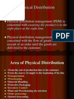 Physical Distribution, Warehousing