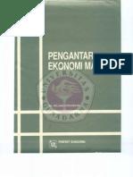Pengantar Ilmu Ekonomi 2