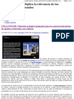Proyecto europeo CELLUWOOD