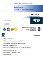 Modul 1- Strategi DanKebijakanTI -2012