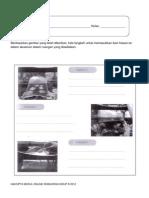 AKTIVITI 3-Tuliskan langkah masukkan ikan hiasan dalam akuarium