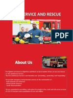 Fire and Rescue Service Presentation