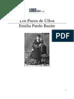 Pardo Bazan, Emilia - Pazos de Ulloa, Los