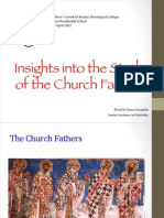 Insights Into the Study of the Church Fathers