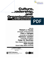 CULTURAL LEADER  SHIP ORGANIZATION CULUTRE