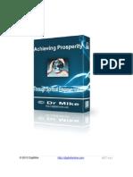 Achieving Prosperity Through Spiritual Empowerment