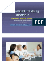 Sleep Related Breathing Disorders 2012 April Part One (1)
