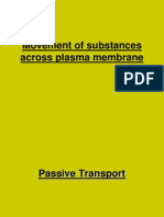Passive Transport and Active Transport