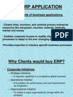 The Erp Application
