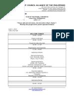 SCAP 8th Congress Draft Program - New