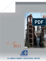 Annual Report 2011(Al Abbas Cement)