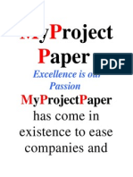 My Project Paper