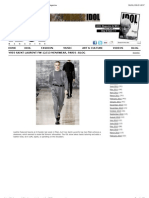 Yves Saint Laurent FW 12:13 Menswear, Paris | Idol Magazine