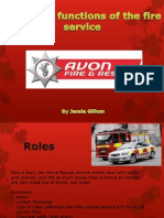 Roles and Functions of the Fire Service