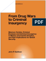 From Drug Wars Criminal Insurgency
