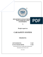 A Project Report on Car Safety System