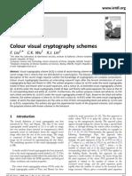 Colour Visual Cryptography Schemes Liu Wu Lin