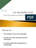 La narración oral