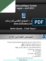 120415 1240 Résultats Baro Politique vague 4 - Avril 2012 HB HG HB HG