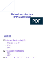 Lecture 3a - Network Architecture IP Protocol Stack