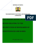 IEBC Preliminary-Report9th Jan 2012