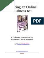 Creating an Online Business