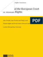 The UK and the European Court of Human Rights