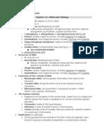 Bio Final Study Guide