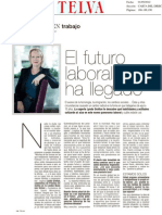 Lynda Gratton y el futuro del trabajo en Telva