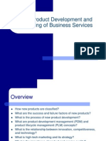 New Product Development and Marketing of Business Services