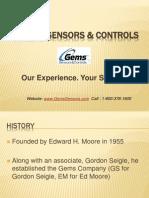 Gems Sensors Level Sensors and Switches