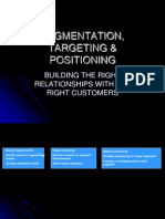 Segmentation Targeting Positioning
