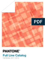 Pant One Fall Catalog