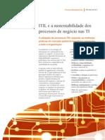 2011_ITIL e a sustentabilidade dos processos de negócio nas TI