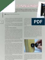 Sensores inalámbricos degradación de madera
