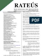 DIÁRIO OFICIAL Nº 003-2012