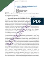 IGNOUMBAMS-43SolvedAssignment2012.... (2)